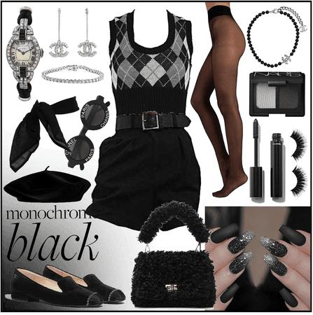 Monochrome - black&white~