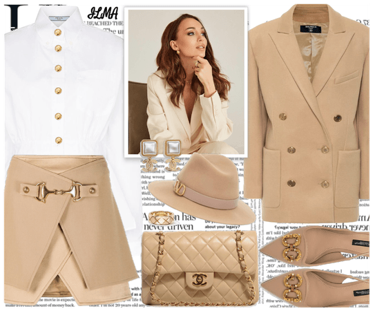 Lady In Beige