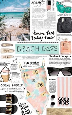 beach days. 🌊