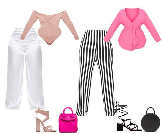 Bossy Pinknic Outfit Plus