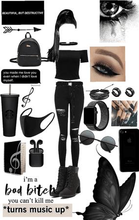 All black vibe