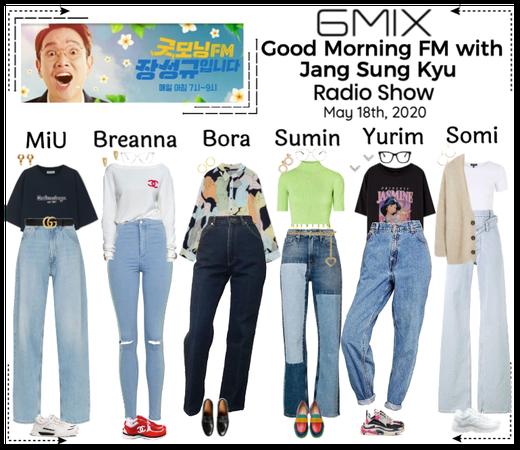 《6mix》Good Morning FM With Jang Sung Kyu