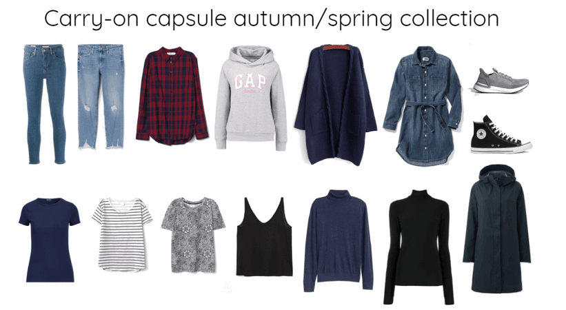 Carry-on capsule autumn/spring collection