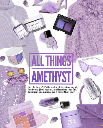 Killer Coat: All Things Amethyst