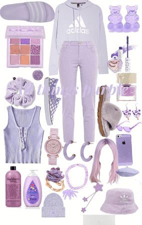 """""""everything purple"""""""