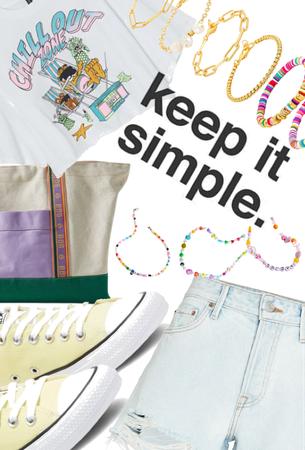 keep in simple