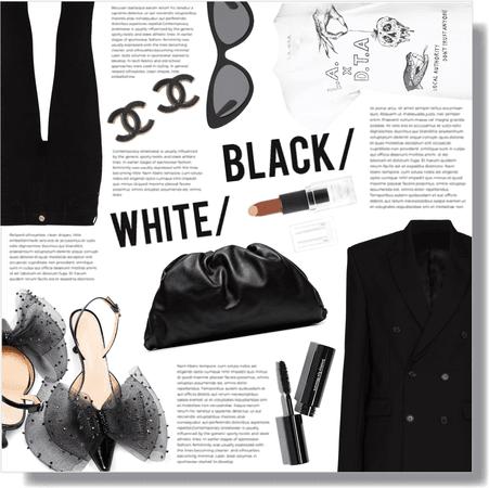 black/ 🖤 white/ 🤍