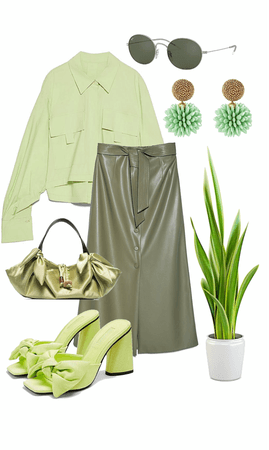 GREEN IS MY STYLE