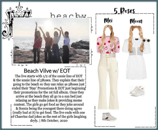5ROSES V-APP Live: 'Beach Time! W/ EOT