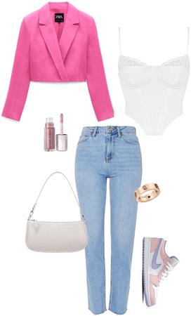 pink Jordan's