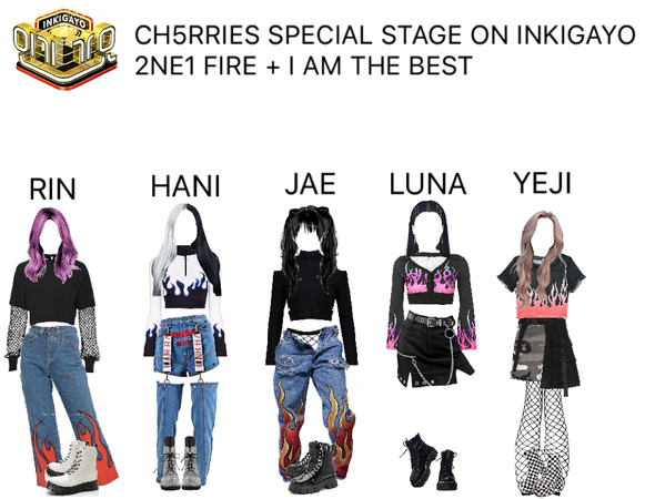 [CH5RRIES] Special stage on Inkigayo