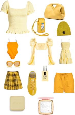 yellow for lemons