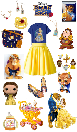 Beauty and the beast agere outfit
