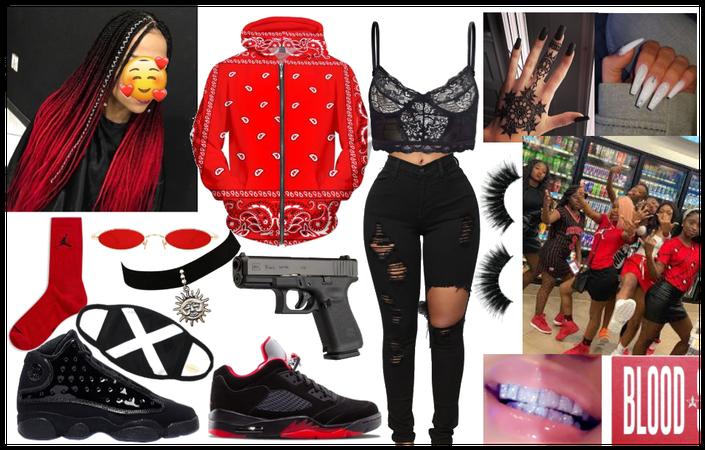 bloodlettes outfit 💯👑👏😍👑💯