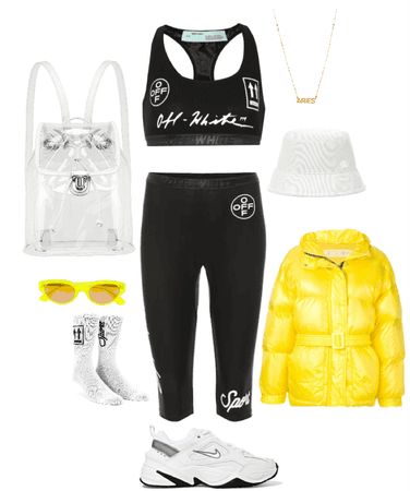 trendy sport outfit