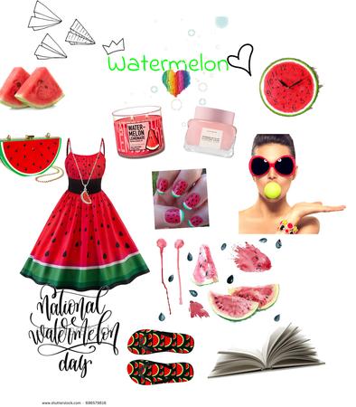 "watermelon 🍉 """