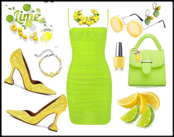 limed lemon