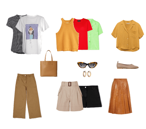 Spring Capsule - accents
