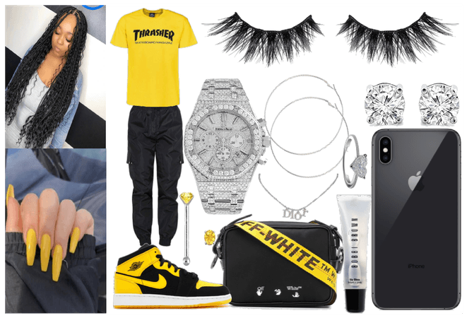 Black & Yellow Fit