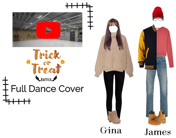 Gina & James Trick or Treat Full Dance Cover