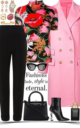 colorful & elegance look