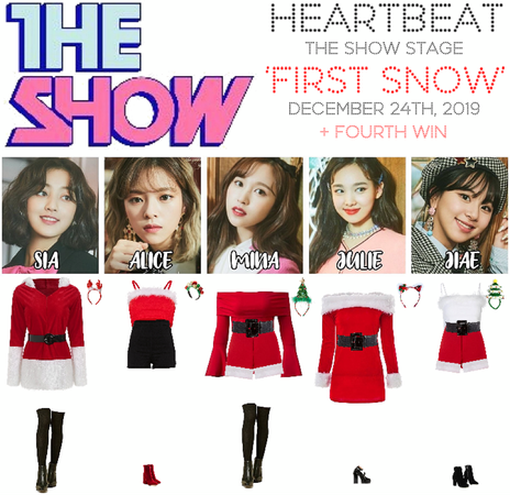 [HEARTBEAT] THE SHOW STAGE 122419 | 'FIRST SNOW' + FOURTH WIN