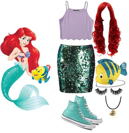 Disney bound Ariel