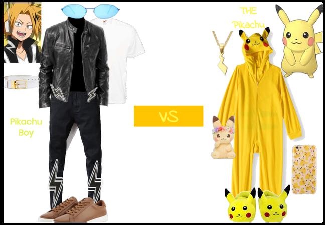 Pikachu boy vs. Pikachu
