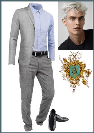 Male Beauxbaton's Academy student
