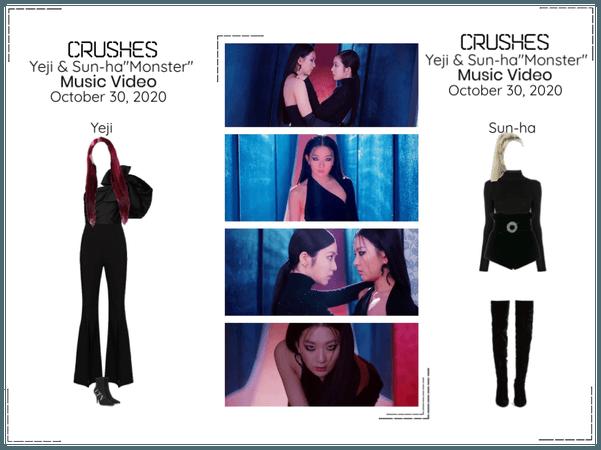 """Crushes (호감) Yeji & Sun-ha """"Monster"""" Music Video"""