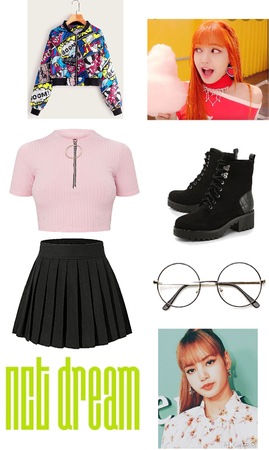 NCT Dream 8th Member Chewing Gum Outfit Female Ver