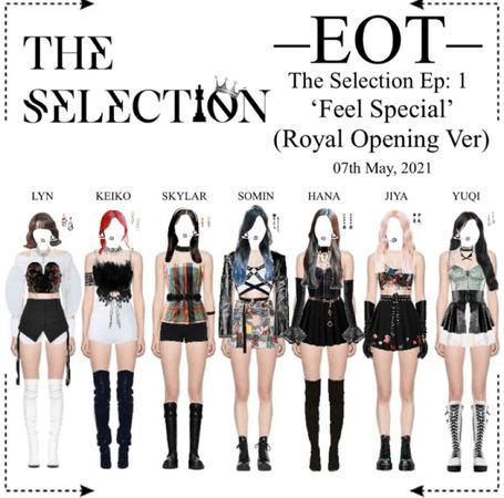 EOT (내일의황후) The Selection Ep: 1 '90 Secs Performance'