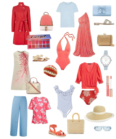 coral resort wear