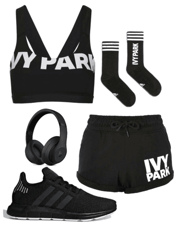 Home workout in Ivy Park