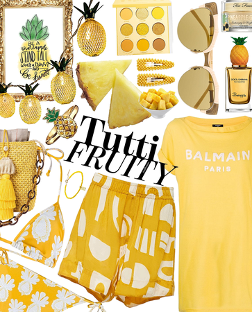 pineapple smash | @looksbylyla contest