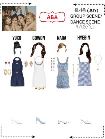 {ABA} 즐거움 (JOY) MV - GROUP/DANCE SCENE
