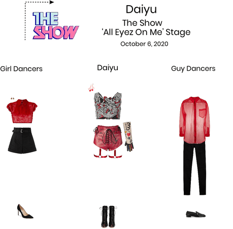 {3D} Daiyu 'All Eyez On Me' The Show Stage