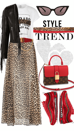 Trend: Leather & Leopard