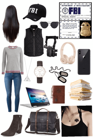 FBI agent outfit