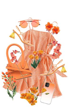 Jacquemus Orange