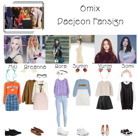 《6mix》Daejeon Fansign