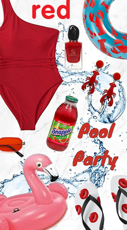 Red Hot Pool Party! 🎈