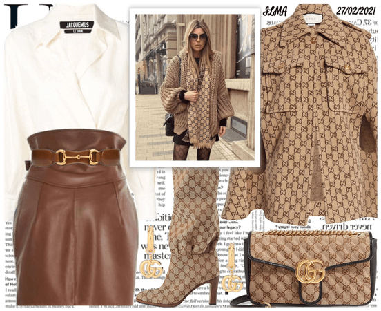 Gucci Monogram Outfit
