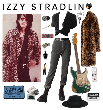 steal their style: izzy stradlin