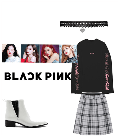 Blackpink inspired stage style