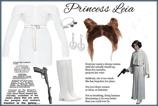 Princess Leia modern outfit