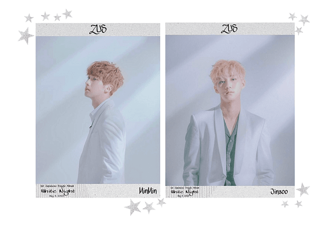 Zus//'White Night' Japan Debut Teasers #1
