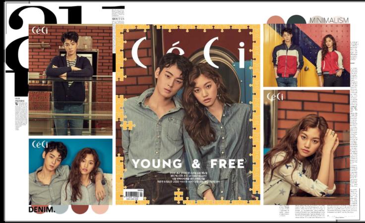 MARIONETTE (마리오네트) Ceci Magazine - Kira & Eunwoo