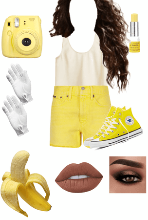BANANA INSPIRED OUTFIT