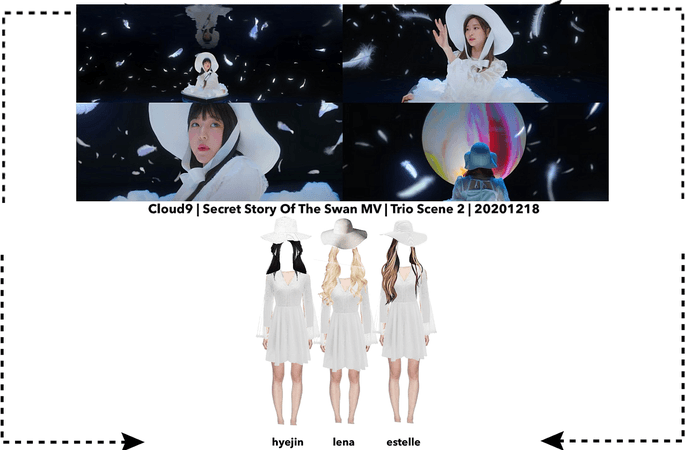 Cloud9 (구름아홉)   Secret Story Of The Swan MV Scene 9   20201218